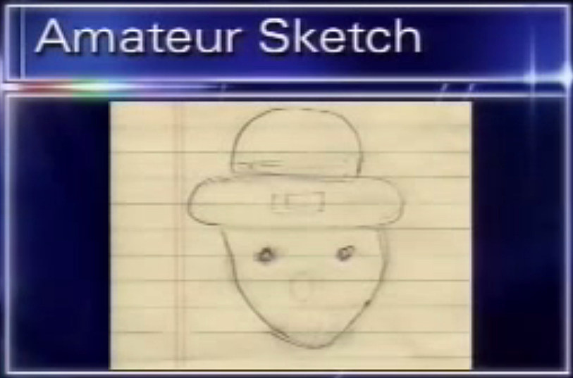 Sketch leprechuan amateur of