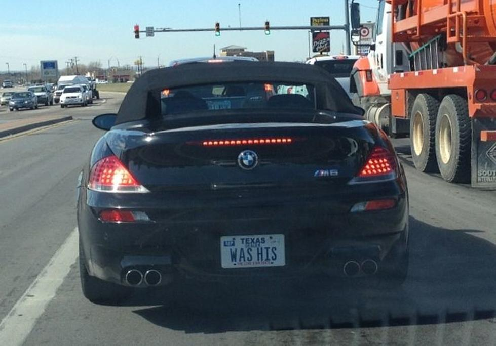 funny texas license plates that somehow made the cut