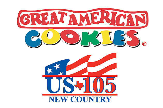 Great American Cookies and US105