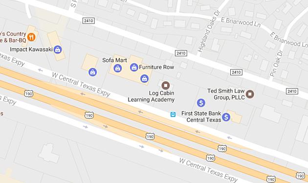 850 W. Central Texas Expy Killeen - via googlemaps