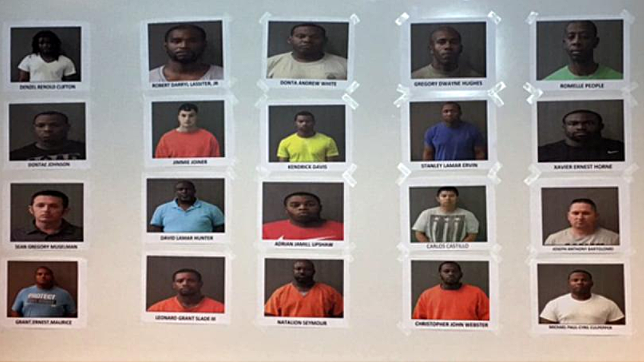 Jail Photos of Men Arrested in the Sting - via KWTX