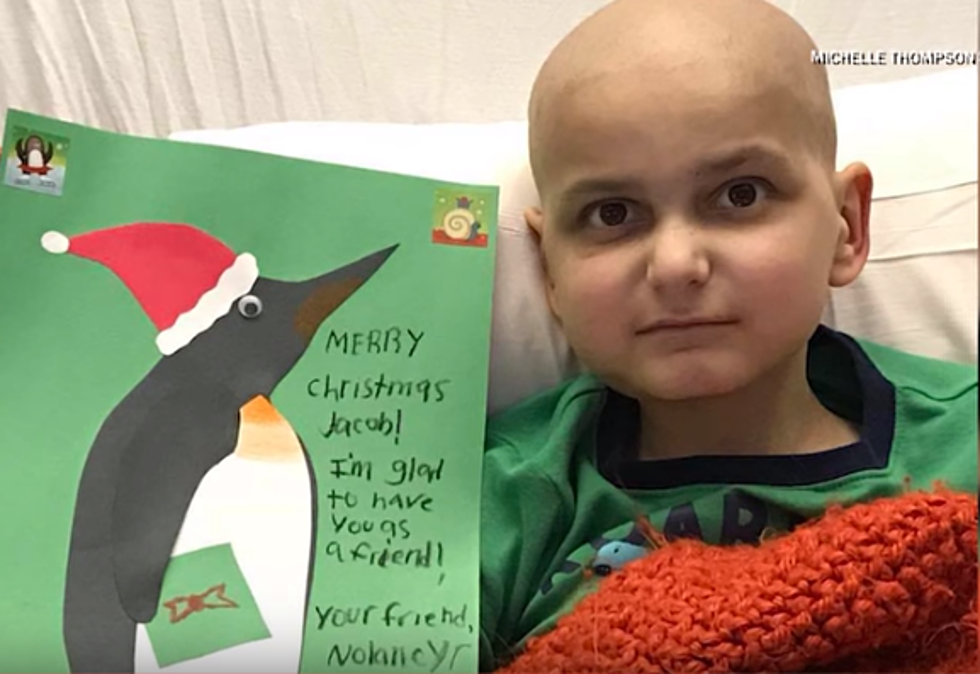 9-Year-Old Has Terminal Cancer, Requests Last Christmas Cards